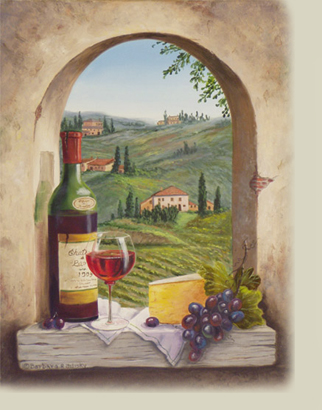 View of Tuscany image