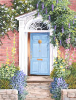 Georgian Blue Door